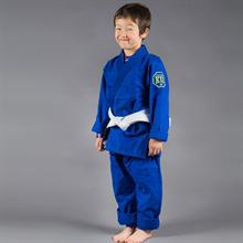 Scramble Blue Kids Jiu Jitsu Gi